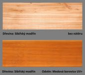 PLUS UV terasový olej T-60 - odstín Medova borovice UV+.