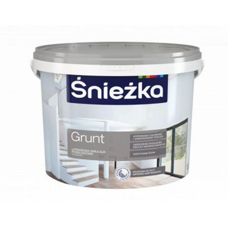 Sniezka GRUNT - základní malířský bílý nátěr - interiér
