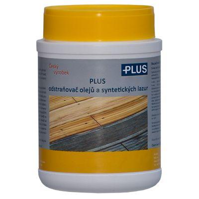 PLUS odstraňovač olejů a syntetických lazur