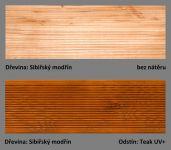 PLUS UV terasový olej T-60 - odstín Teak UV+.