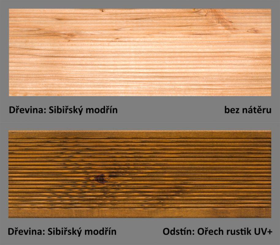 PLUS UV terasový olej T-60 - odstín Ořech rustik UV+.