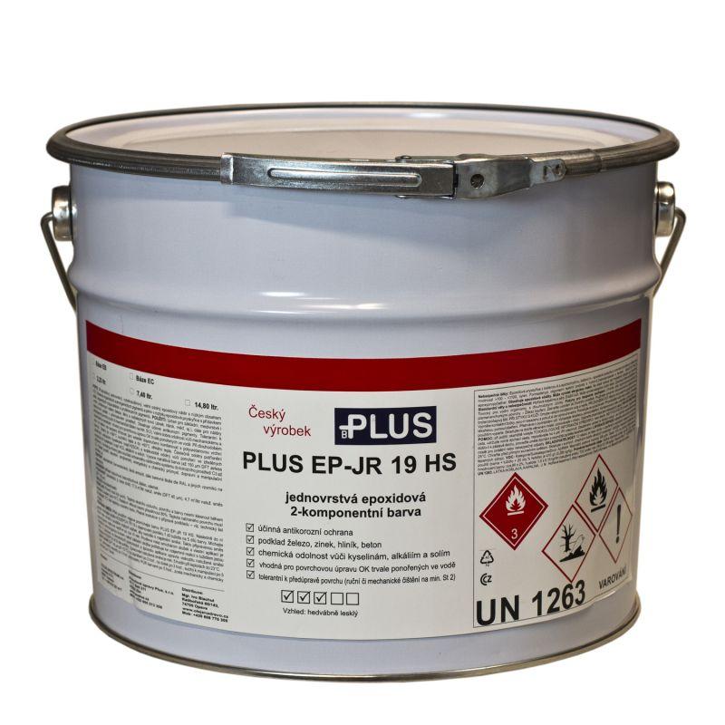 PLUS EP-JR 19HS barva na betonové podlahy, nádrže a potrubí
