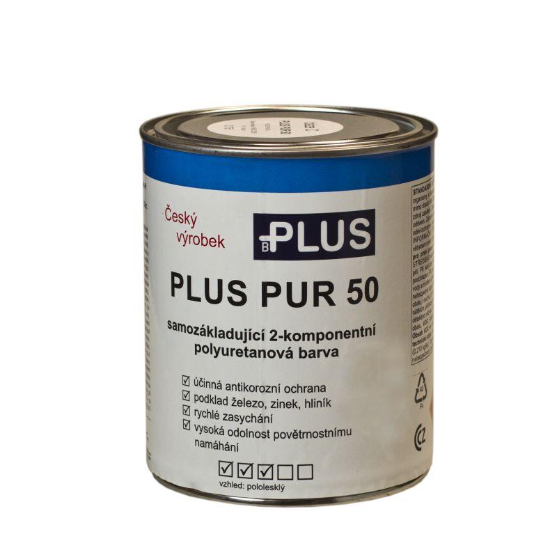 PLUS PUR 50 - antikorozní barva na plechové střechy