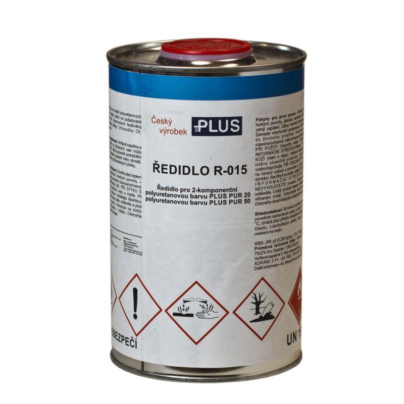 PLUS Ředidlo R-015 (1L) do PUR barev