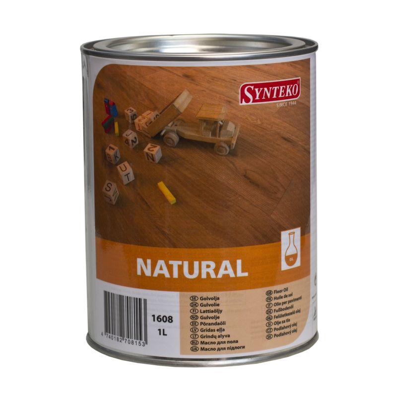 SYNTEKO NATURAL (1L) olej na dřevěné vnitřní podlahy