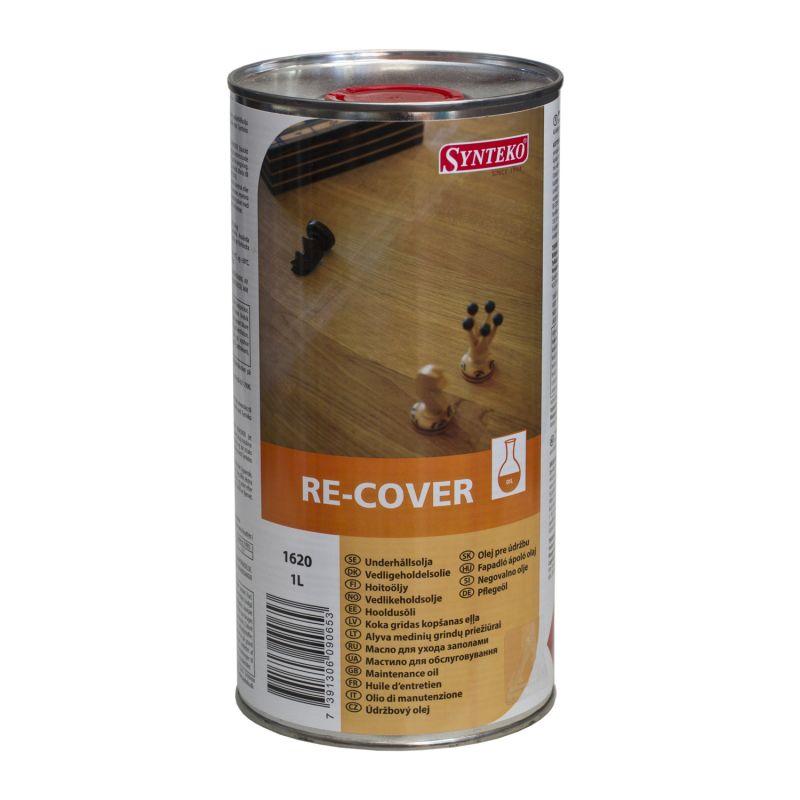SYNTEKO RE-COVER (1L) olej pro údržbu dřevěných podlah v interiéru