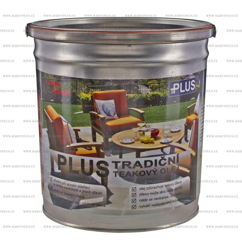 PLUS tradiční teakový olej (3L)