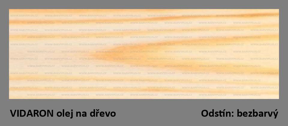 VIDARON - olej na dřevo - bezbarvý