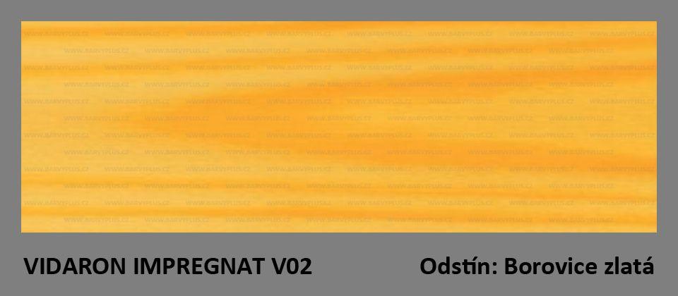 VIDARON IMPREGNAT V02 Borovice zlatá