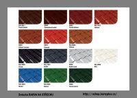 Sniezka Barva na střechu - vzorník odstínů