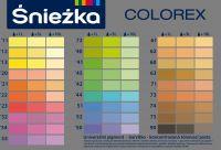 Sniezka COLOREX - vzorník odstínů