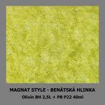 ukázka MAGNAT STYLE Benátská hlinka - Olivín 40ml