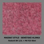 ukázka MAGNAT STYLE Benátská hlinka - Rodpnit 40ml