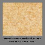 ukázka MAGNAT STYLE Benátská hlinka - Citrín