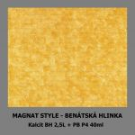 ukázka MAGNAT STYLE Benátská hlinka - Kalcit