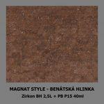 ukázka MAGNAT STYLE Benátská hlinka - Zirkon