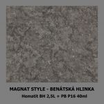 ukázka MAGNAT STYLE Benátská hlinka - Hematit