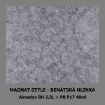 ukázka MAGNAT STYLE Benátská hlinka - Almadyn