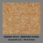 ukázka MAGNAT STYLE Benátská hlinka - Bronzit