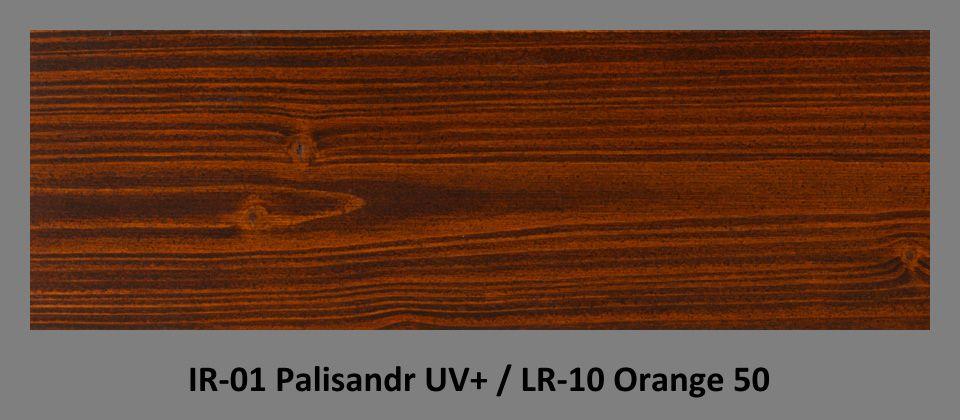 PLUS Impregnační olej IR-01 Palisandr UV+ & lazura LR-10 Orange 50