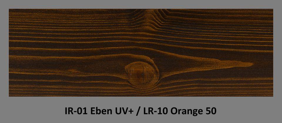PLUS Impregnační olej IR-01 Eben UV+ & lazura LR-10 Orange 50