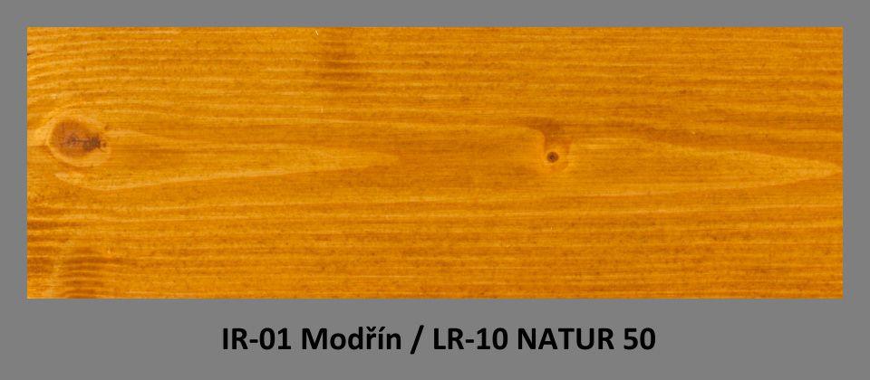 PLUS Impregnační olej IR-01 Modřín & lazura LR-10 Natur 50
