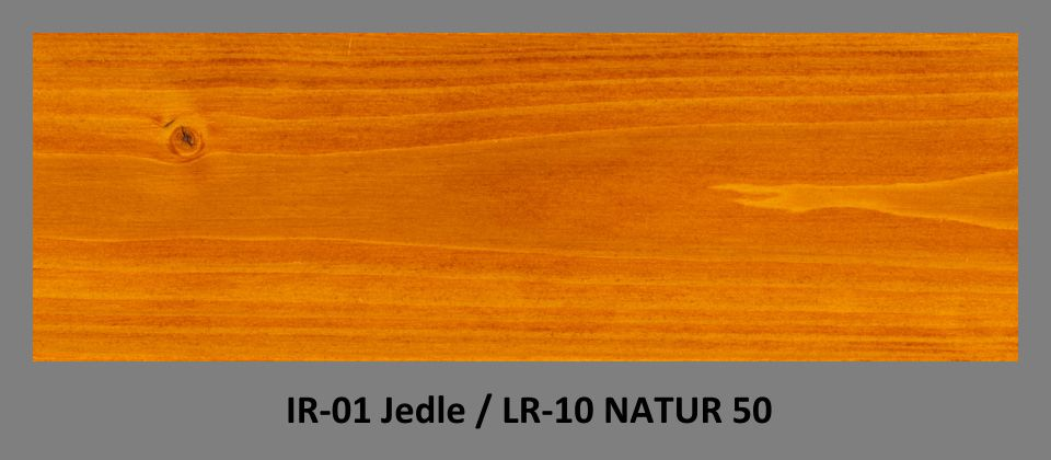 PLUS Impregnační olej IR-01 Jedle & lazura LR-10 Natur 50