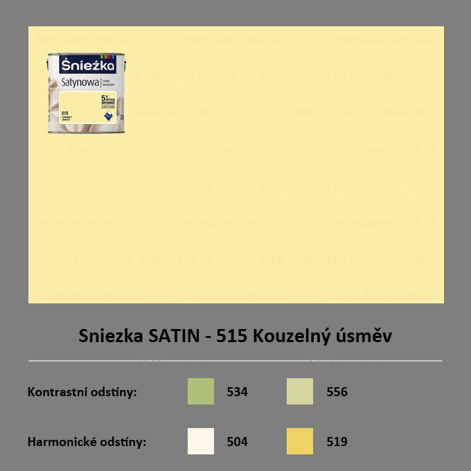 Sniezka SATIN - 515 Kouzelný úsměv