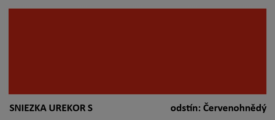 UREKOR S  -červenohnědý