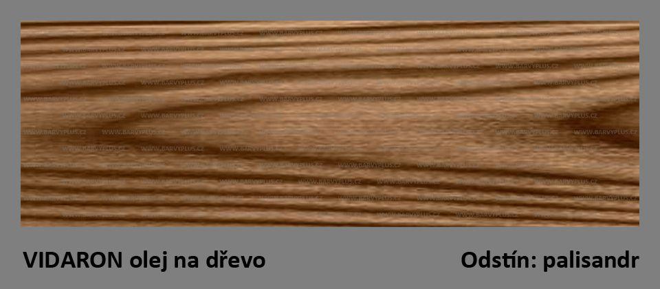 VIDARON-olej na terasy a zahradní nábytek-palisandr