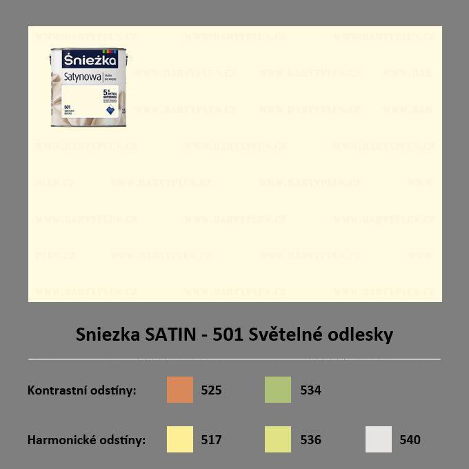 Sniezka SATIN - 501 Světelné odlesky