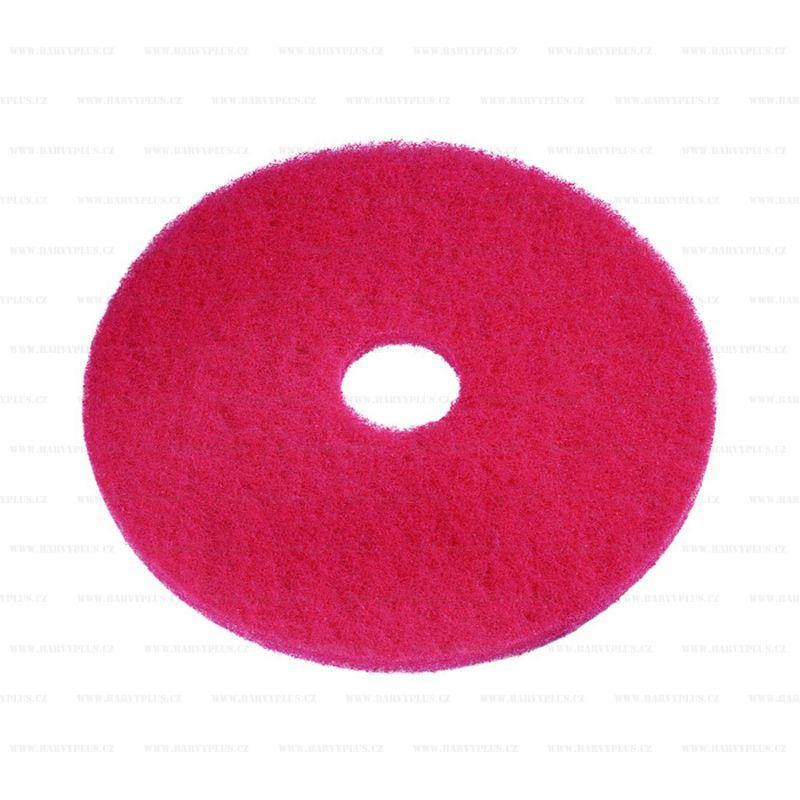 Super PAD červený pro čištění podlah