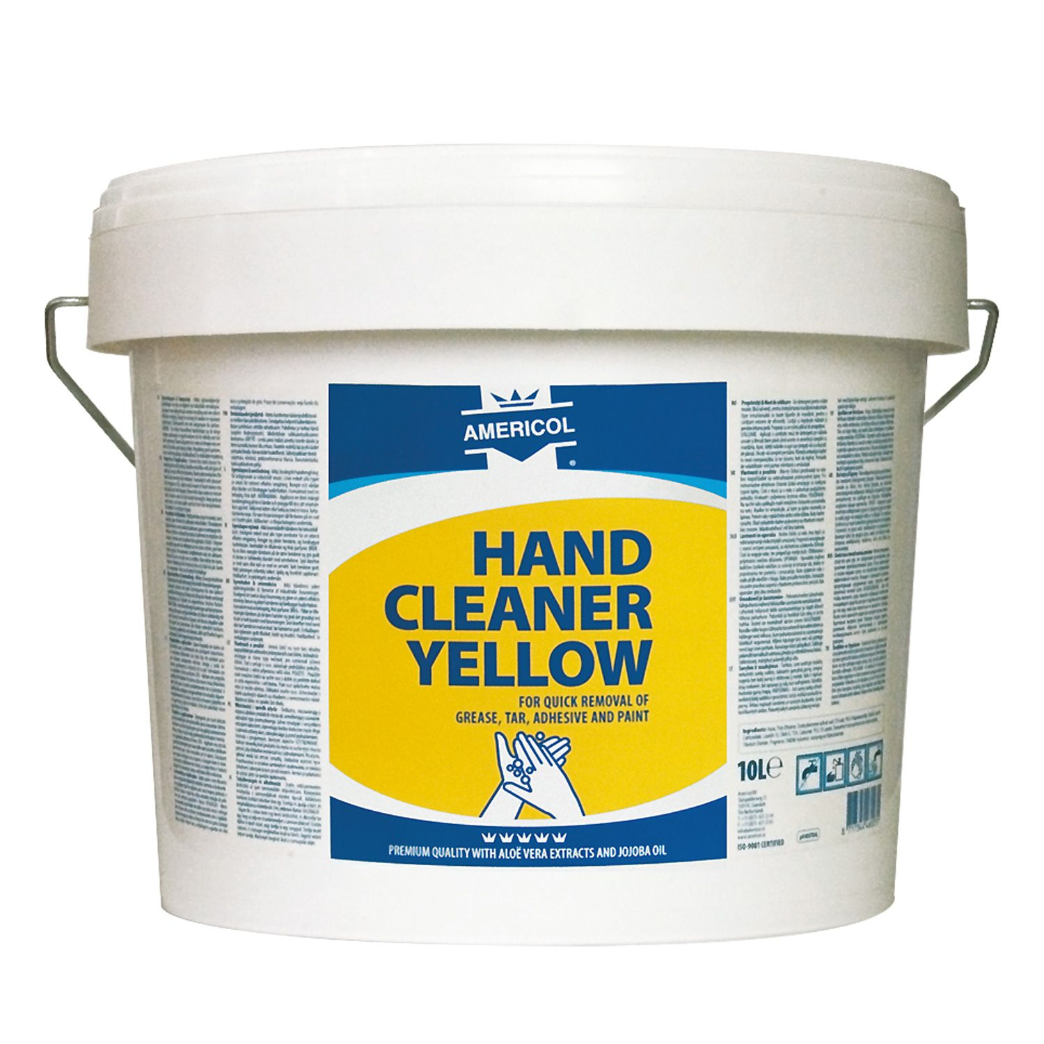 AMERICOL Hand Cleaner Yellow 10L