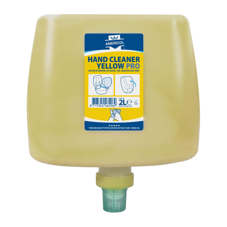 AMERICOL Hand Cleaner Yellow Pro Cartridge (2L) - náplň pro plastové kazety na zeď
