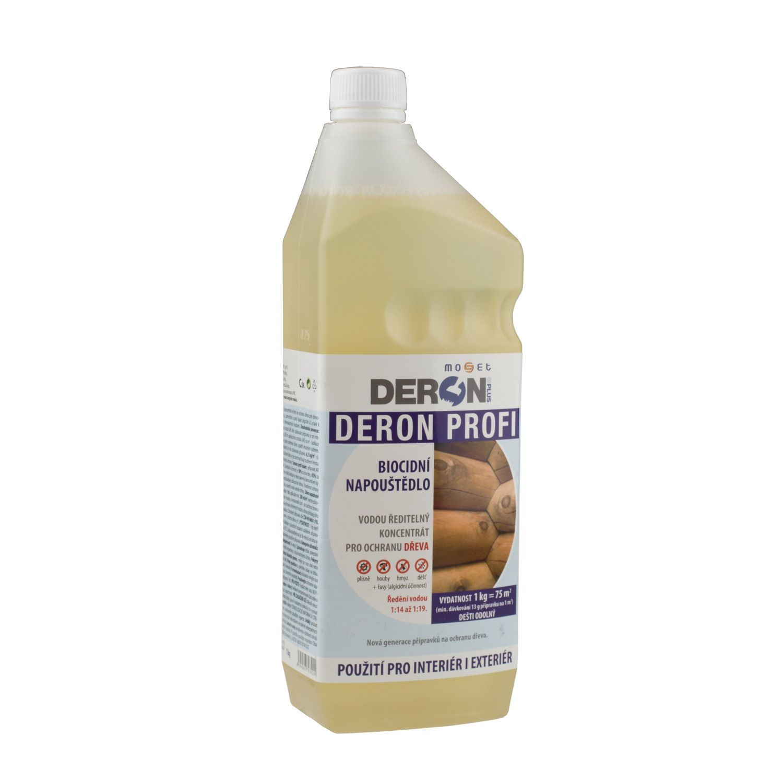 DERON PROFI preventivní ochrana dřeva (plíseň, hniloba, houba a hmyz)