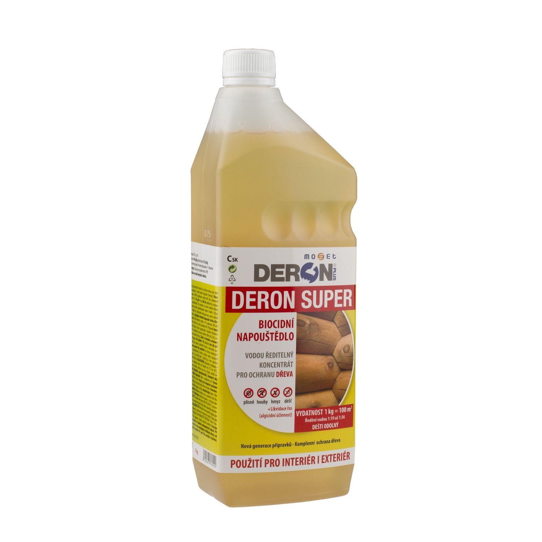 DERON SUPER preventivní ochrana dřeva (plíseň, hniloba, houba a hmyz)