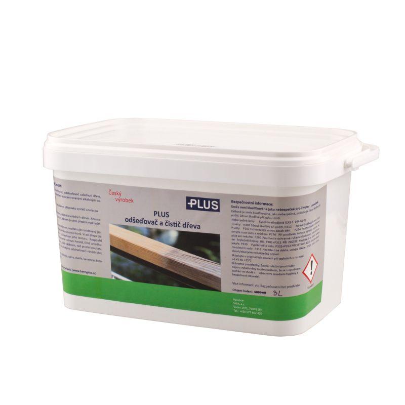 PLUS odšeďovač a čistič dřeva (3L)