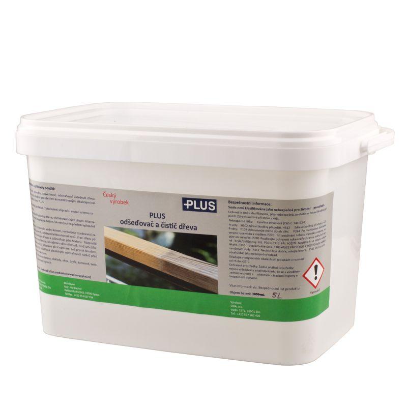 PLUS odšeďovač a čistič dřeva (5L)
