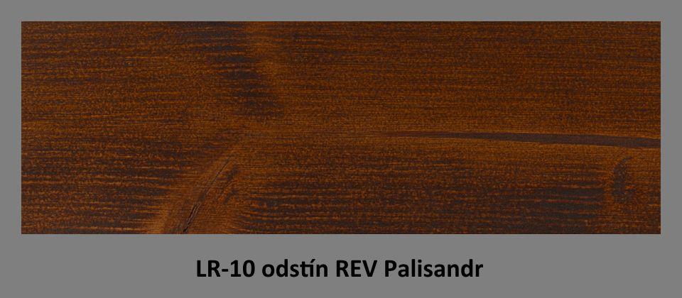 FOTO olejová lazura PLUS UV LR-10 v odstínu REV Palisandr
