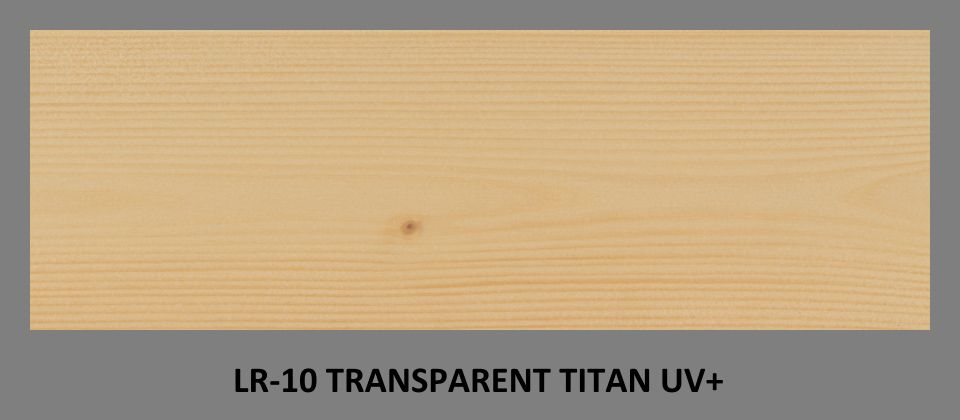 FOTO olejová lazura PLUS UV LR-10 v odstínu Transparent Titan UV+