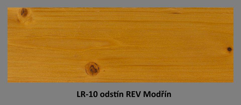 FOTO olejová lazura PLUS UV LR-10 v odstínu REV Modřín