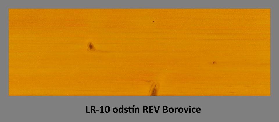 FOTO olejová lazura PLUS UV LR-10 v odstínu REV Borovice