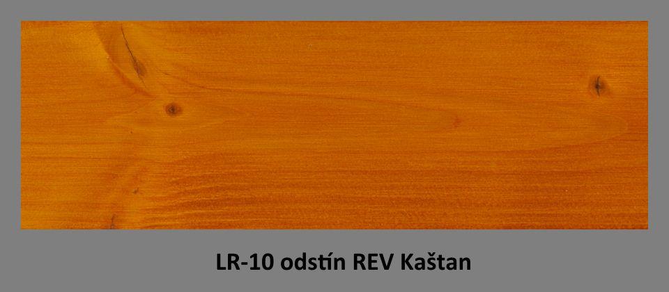 FOTO olejová lazura PLUS UV LR-10 v odstínu REV Kaštan