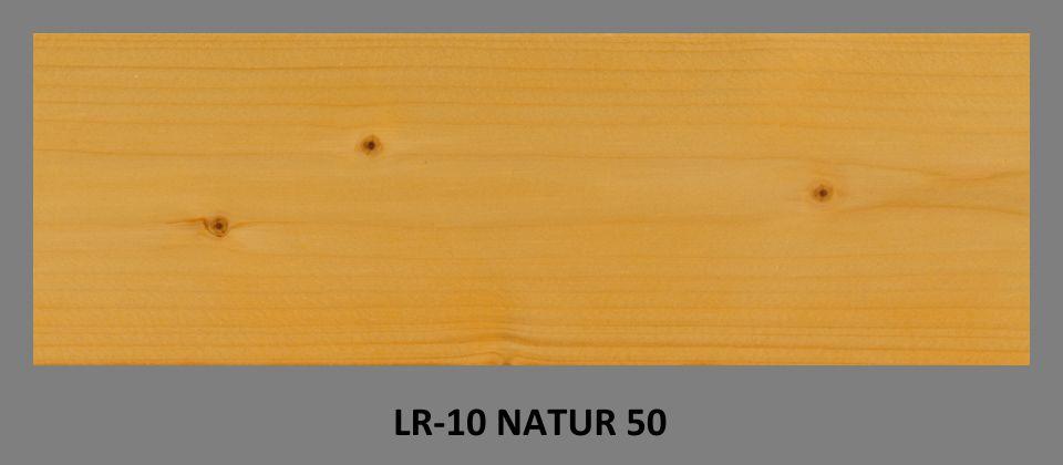 FOTO - olejová lazura PLUS UV LR-10 v odstínu NATUR 50