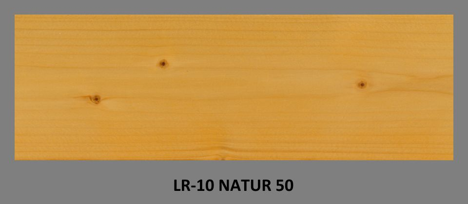 PLUS UV lazura LR-10 odstín NATUR 50