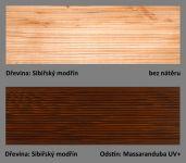odstín Massaranduba UV+ ukázka barevné varianty Plus UV terasový olej T-60