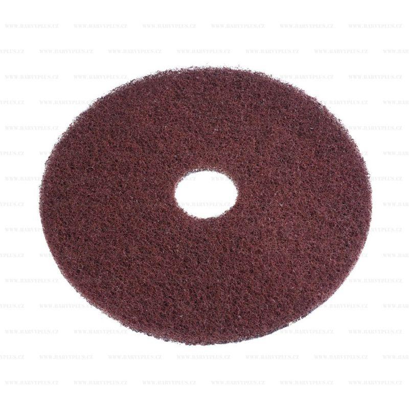 Super PAD hnědý pro čištění podlah