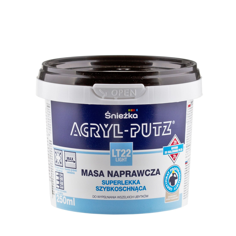 Sniezka Acryl putz LT22 Ligt (250ml)