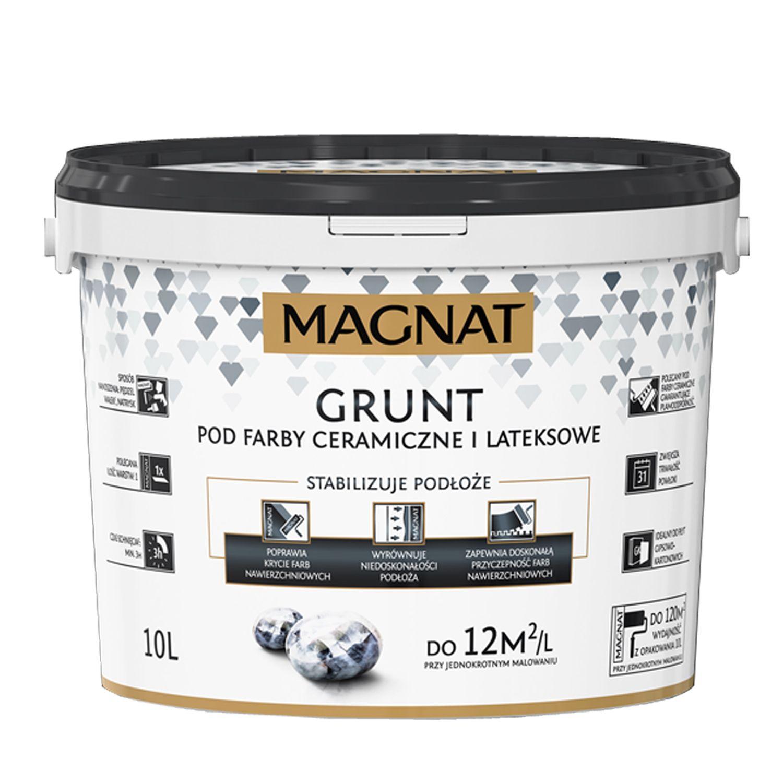 MAGNAT Grunt základní bílá barva na stěny v interiéru