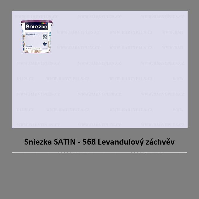Sniezka SATIN - 568 Levandulový záchvěv